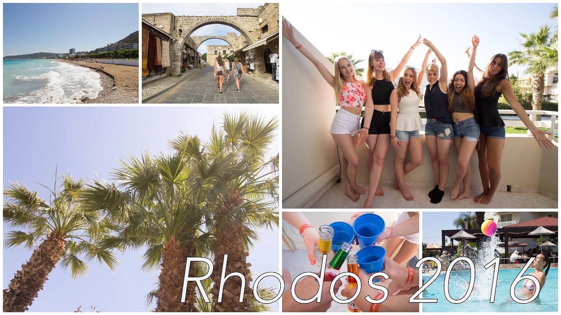 En vecka i Rhodos / Följ mig runt!