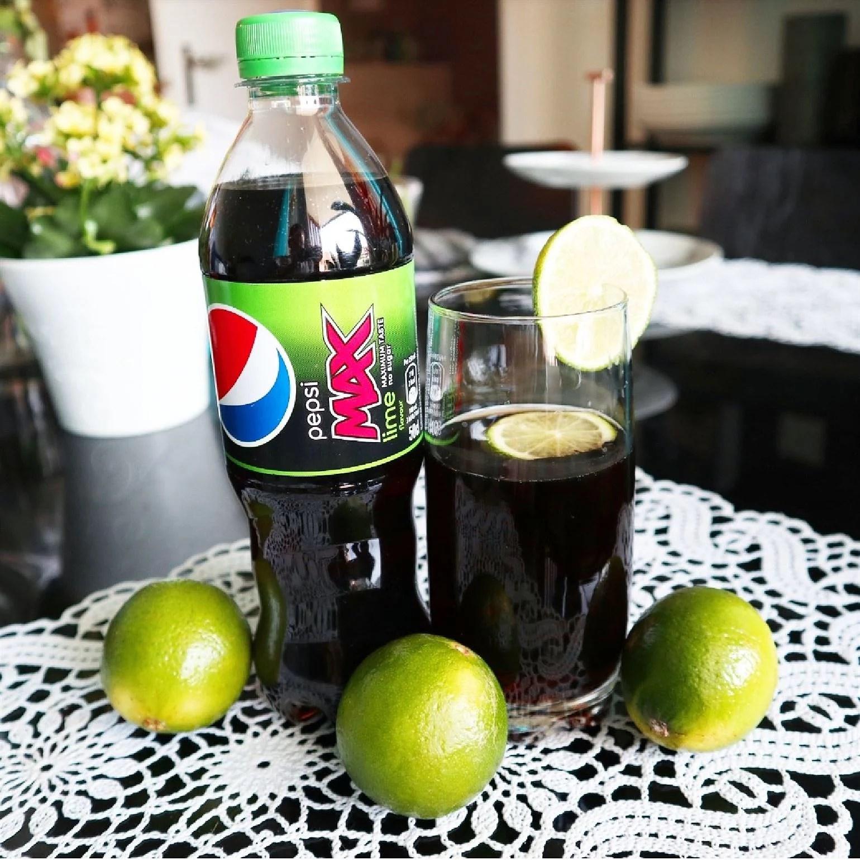 Nyhet - Pepsi Max Lime
