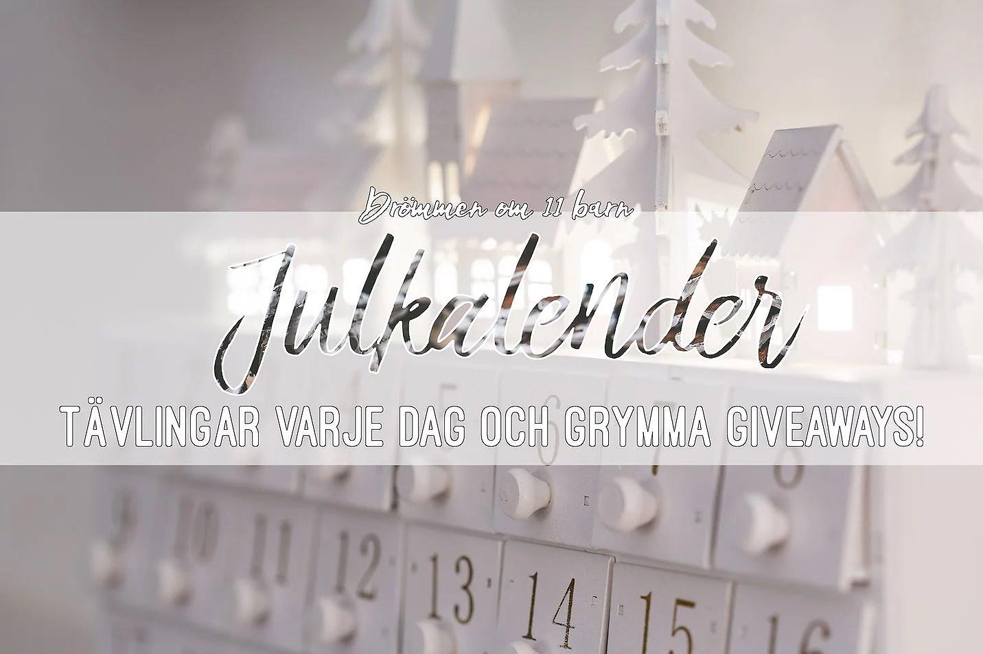 Julkalender 2018 - lucka 1