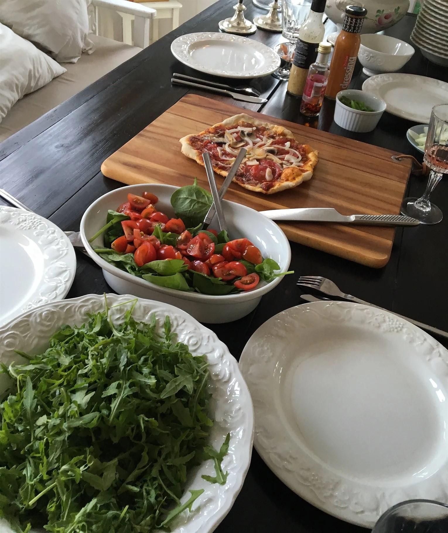 (U)SUND TORSDAG: Hjemmelavet pizza på grill