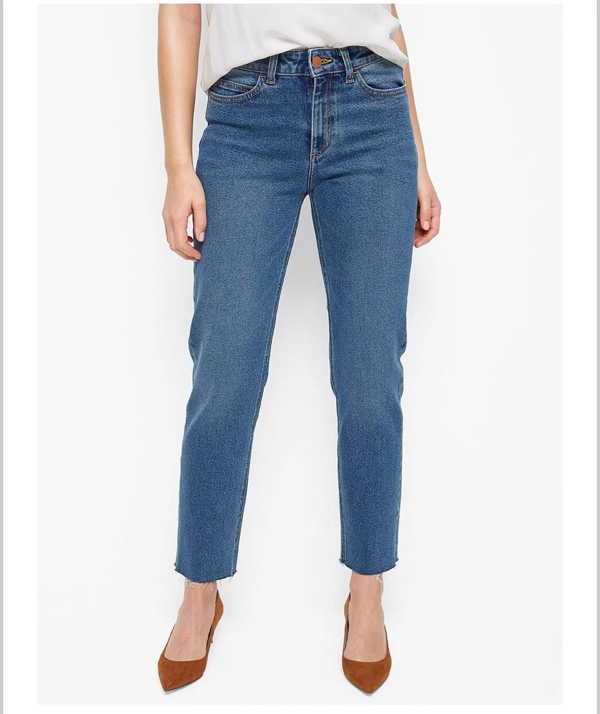 Två snygga hållbara jeans från Lindex!