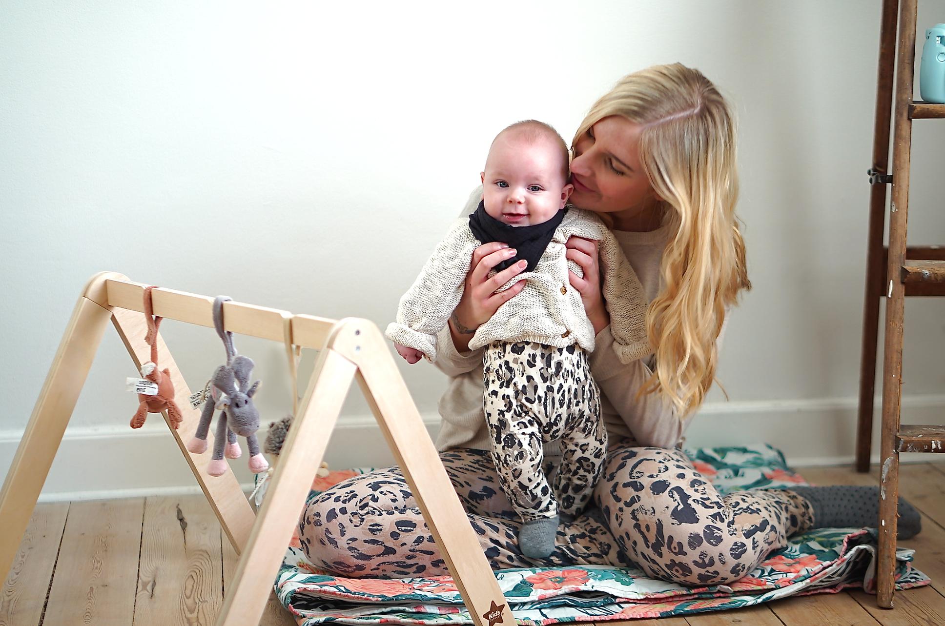 Leopard Bells (& a Matching Baby Boy)