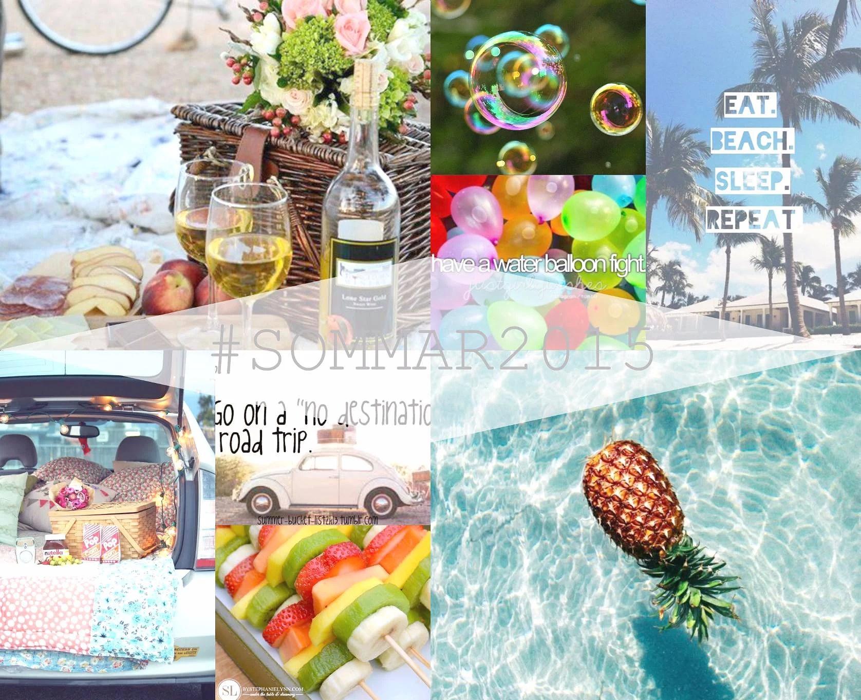 Moodboard || #sommar2015