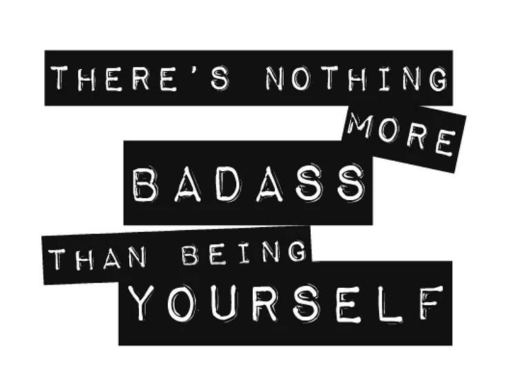 Var dig själv!