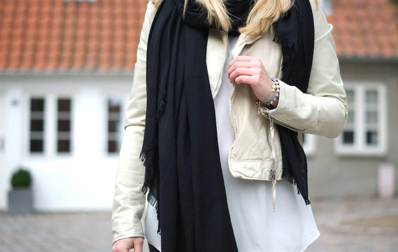 Modeblogger i Aalborg, Aalborg modeblog, Aalborg blogger, Nordjysk blogger, Julie Mænnchen, It's My Passions, H&M, Lys læderjakke, Black Lily, Hat, B&CO