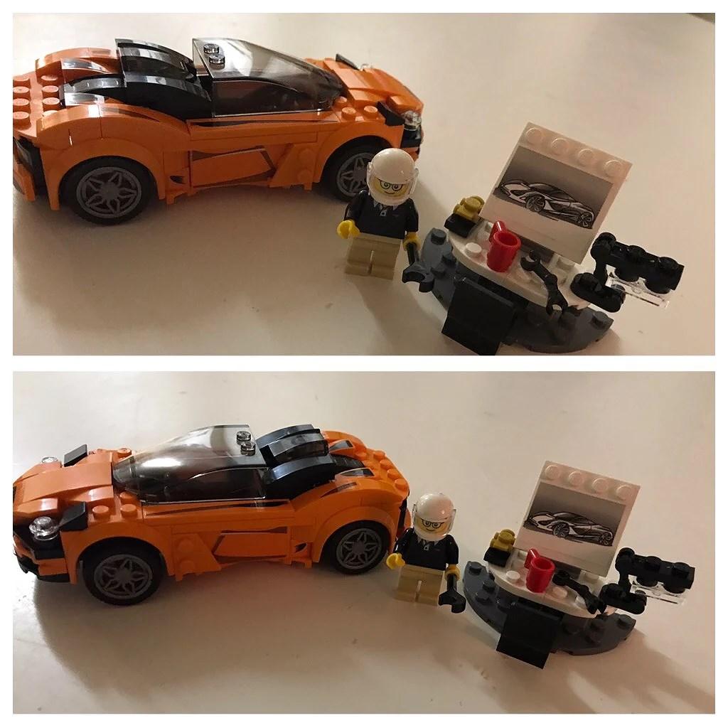 Legobygge