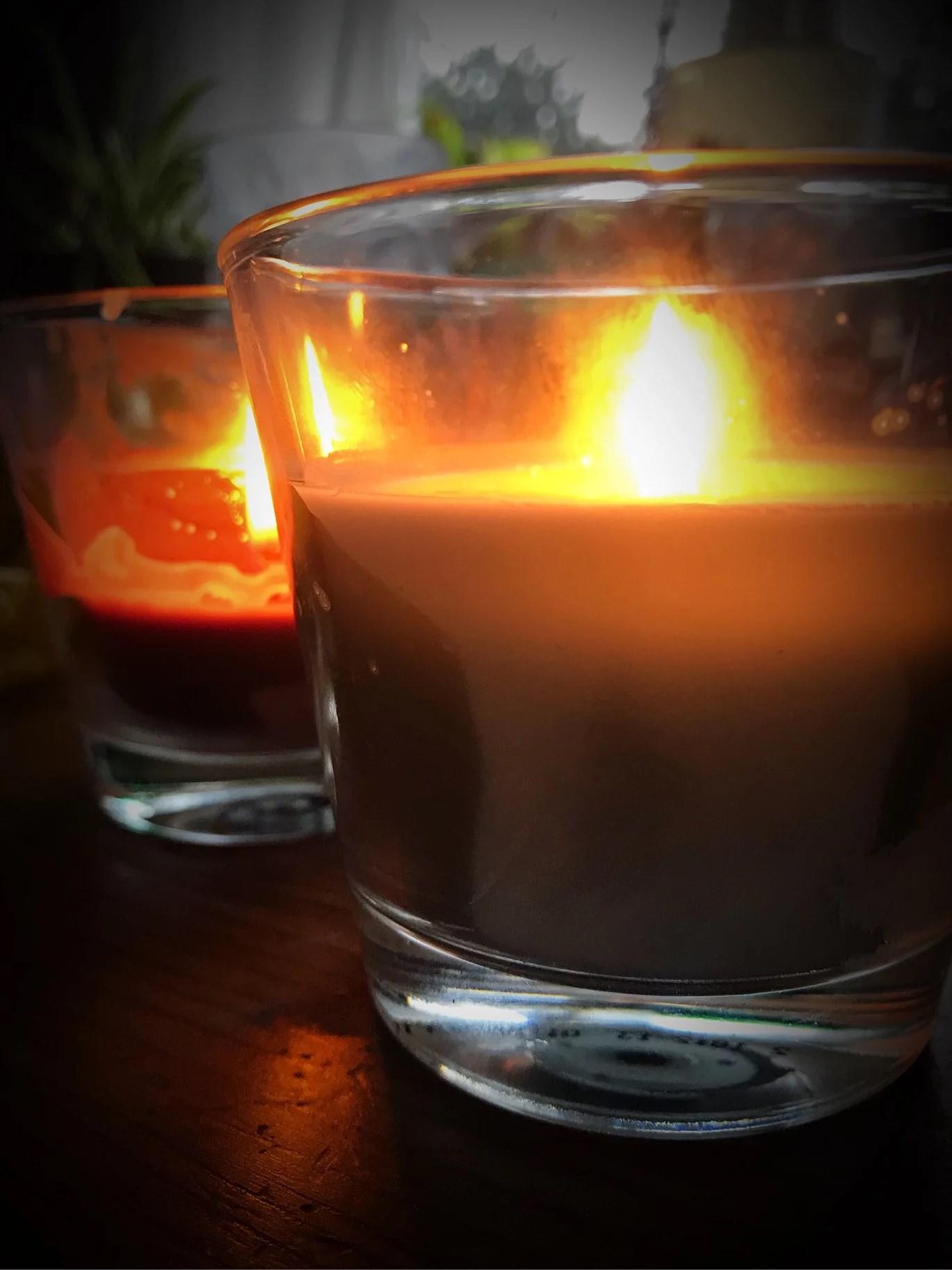 Doftljus och julklappsinköp