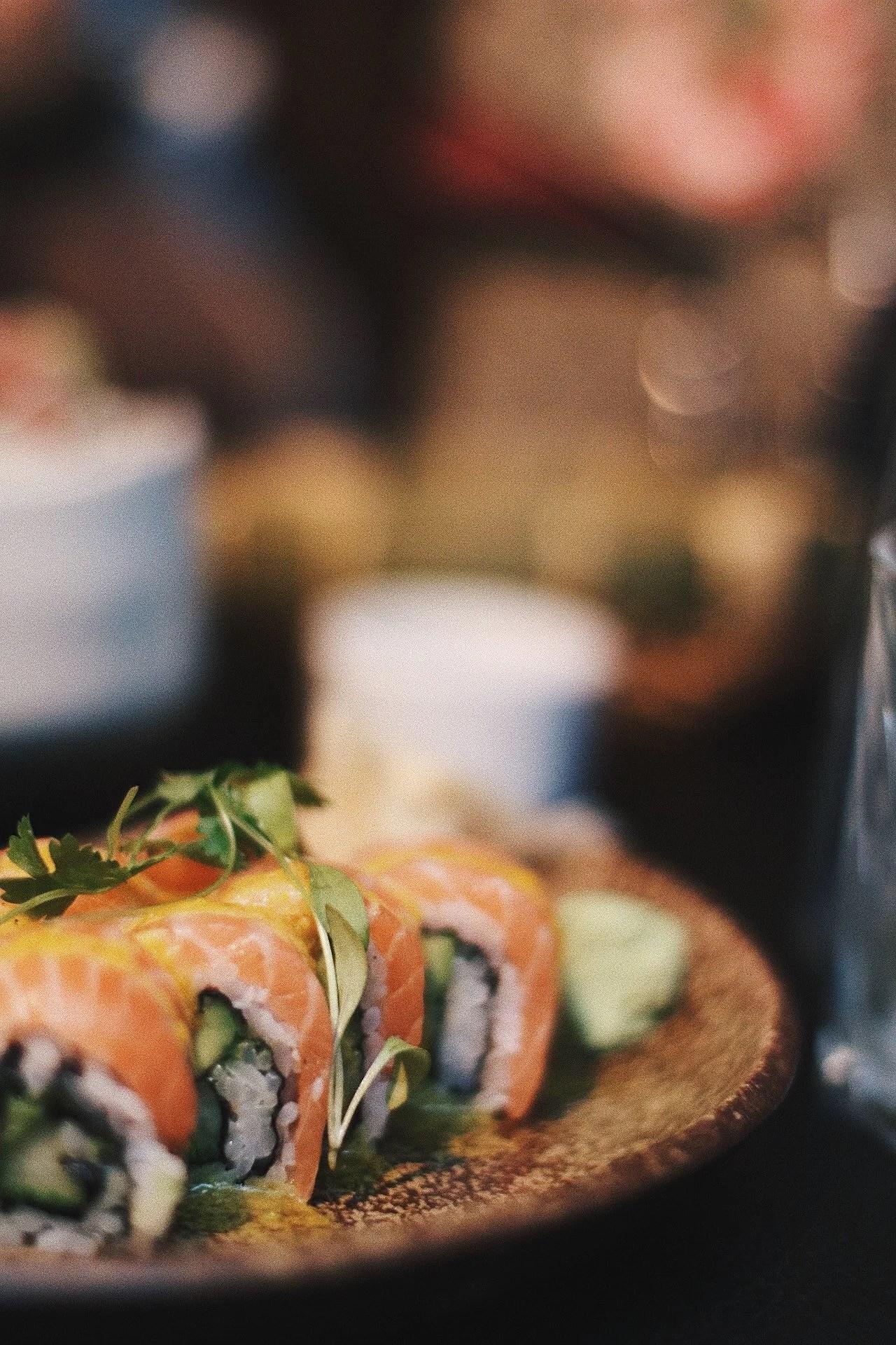 Middag på Sticks n' Sushi
