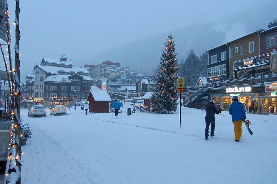 snöig dag