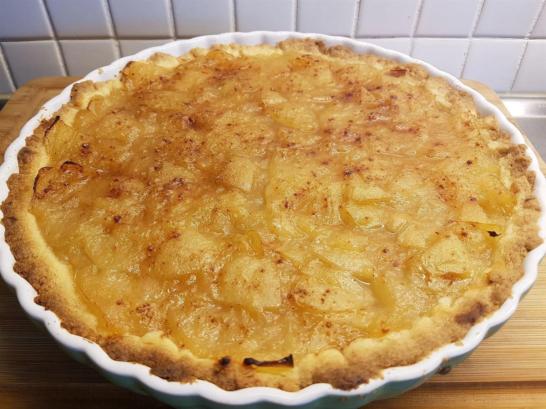 Enkel Äppelpaj