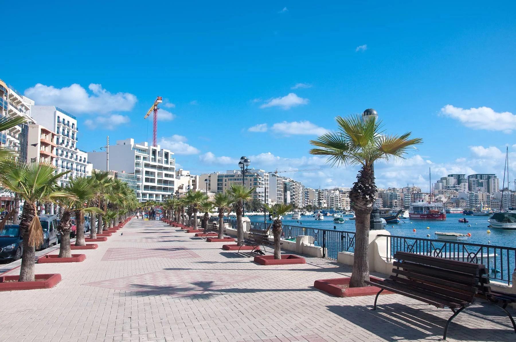 Sol & bad på Malta