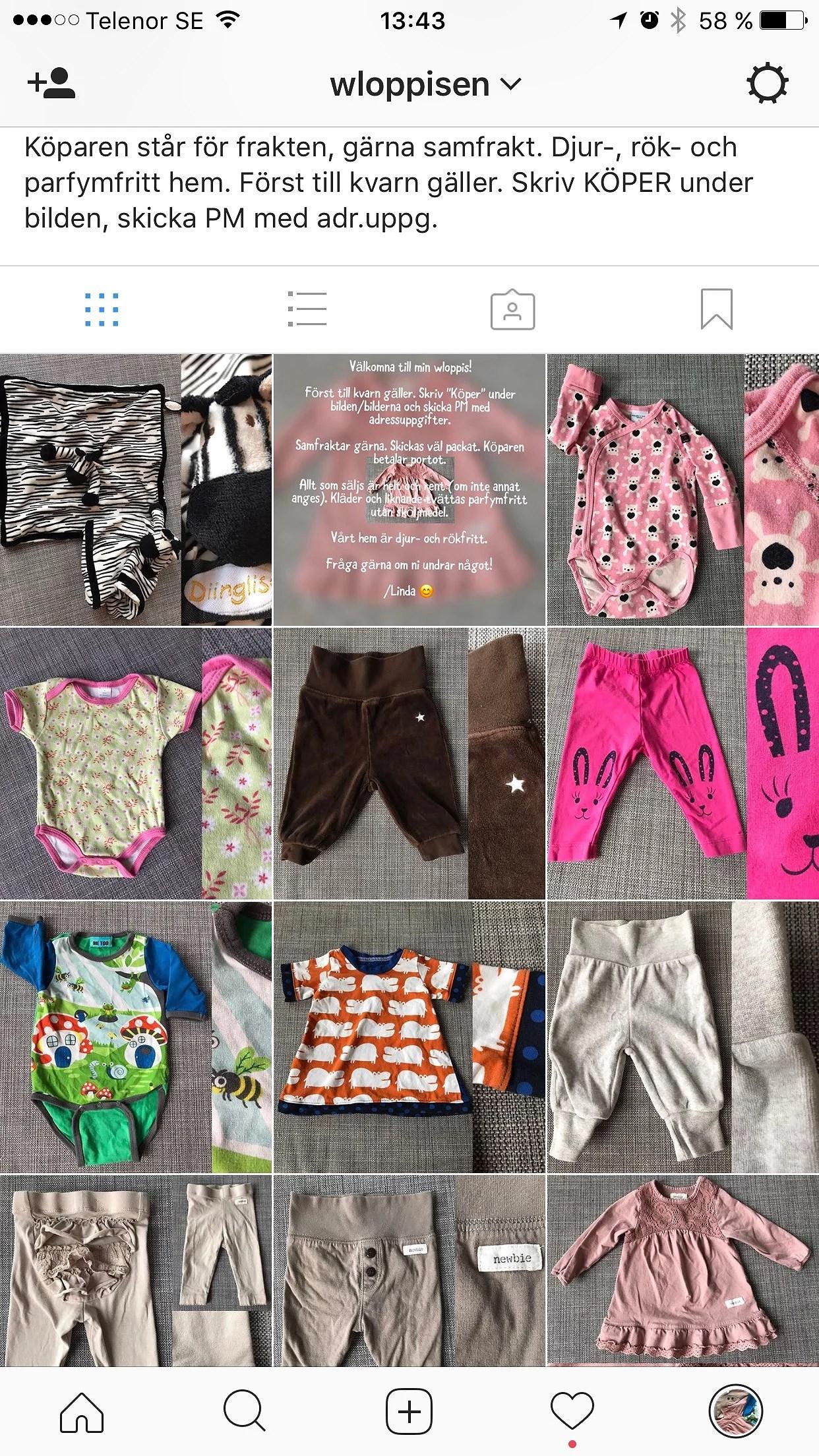 Följ min loppis på Instagram!!