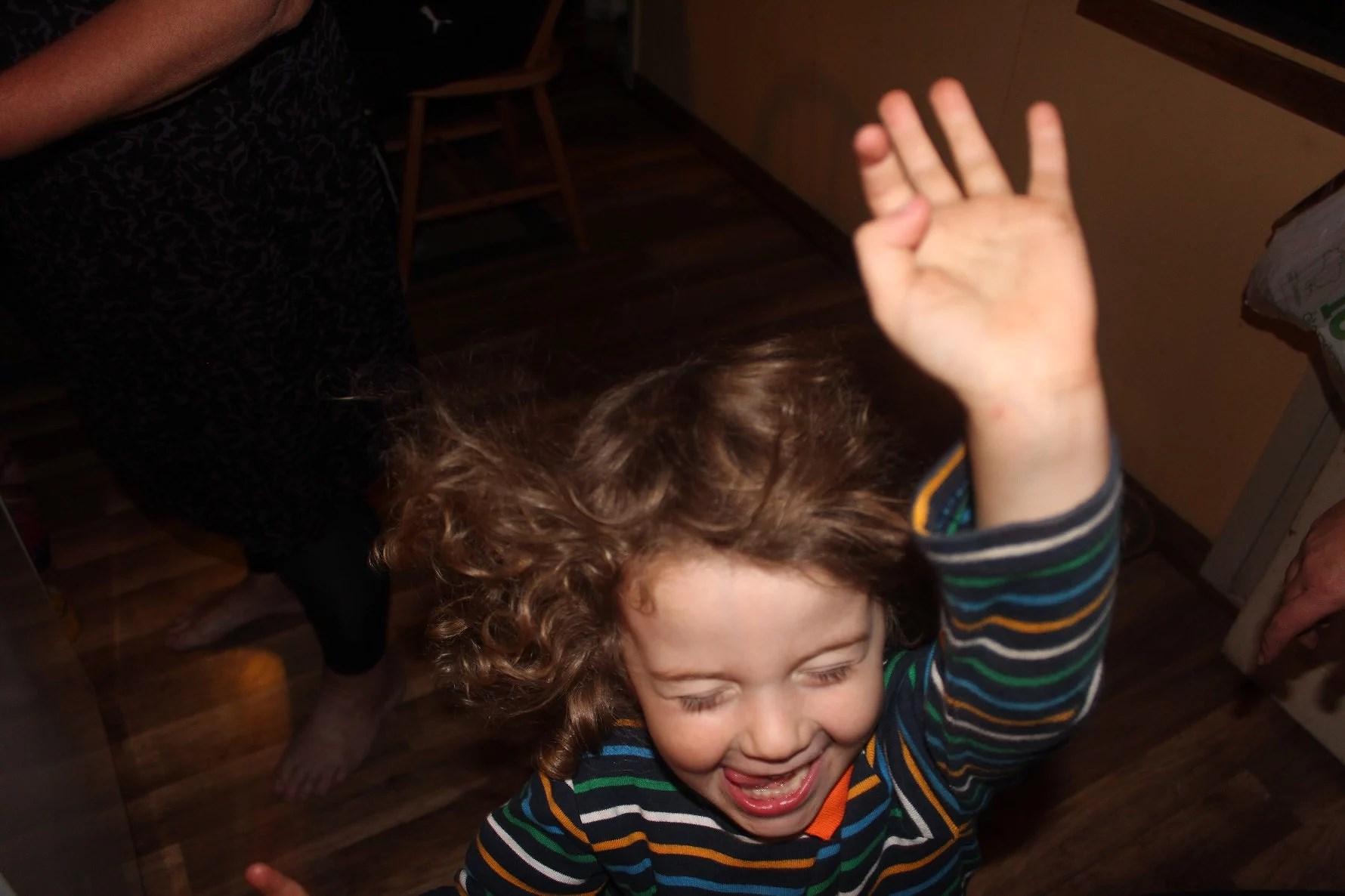 Min lille kille blir 4 år!