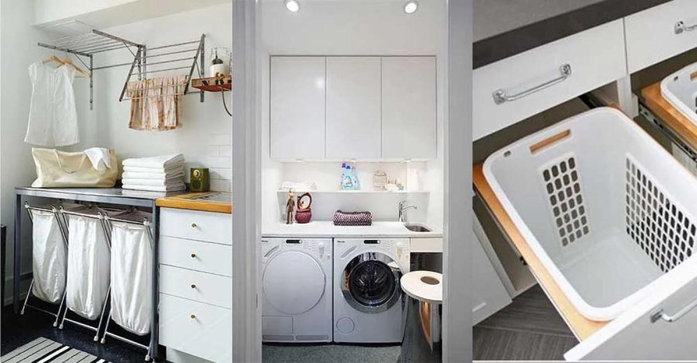 Diy - 13 smarta tips till tvättstugan