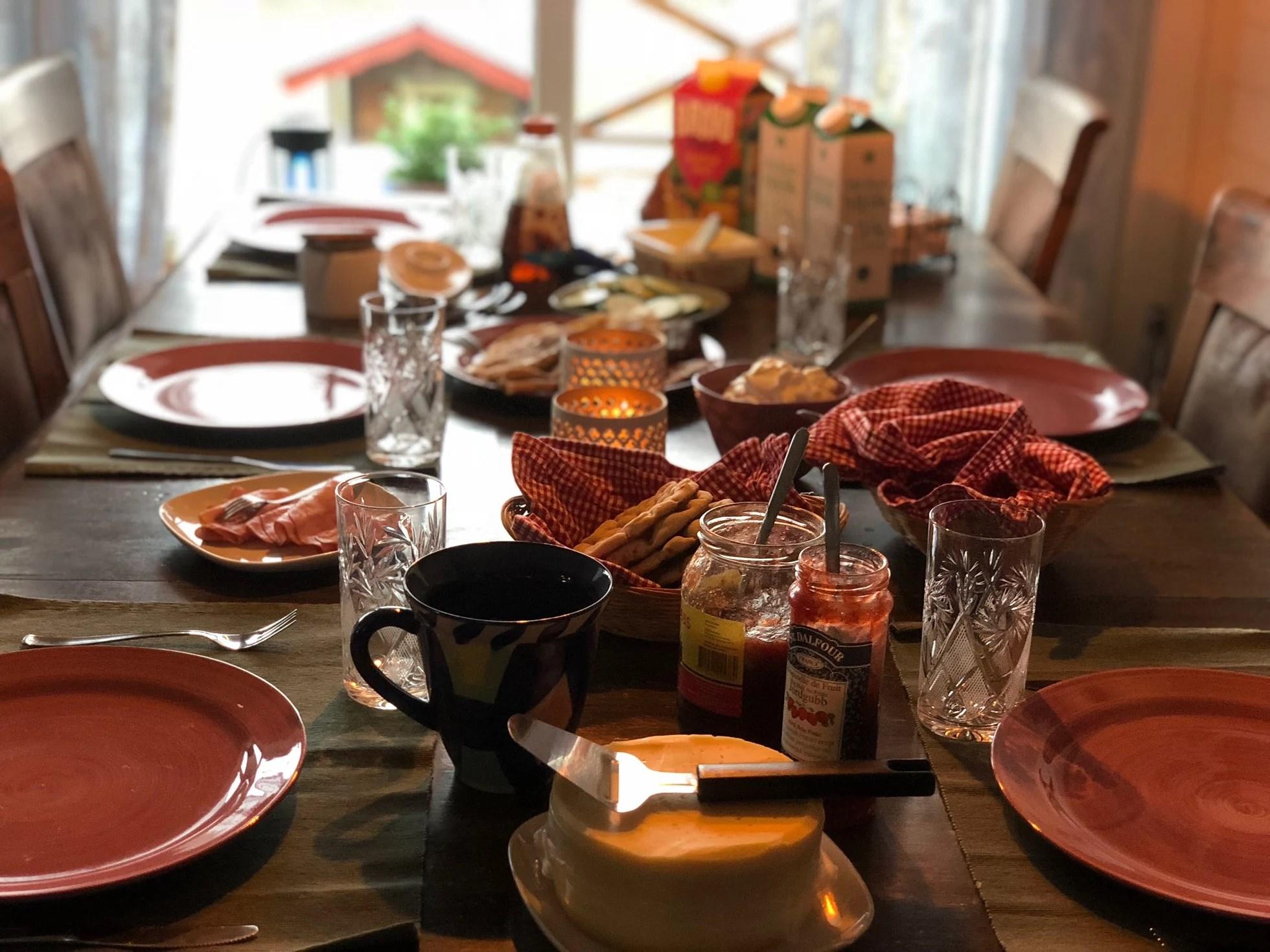 Födelsedags frukost