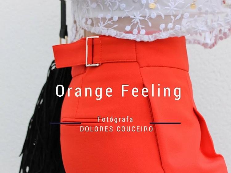 Orange Feeling with Zara