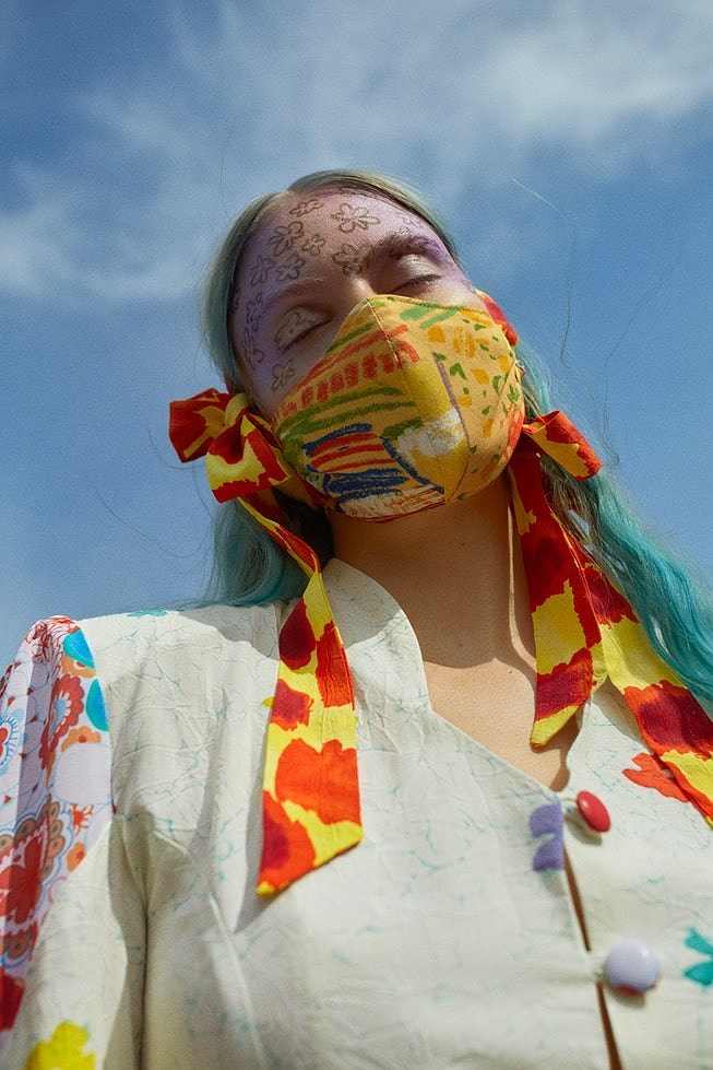 collina strada, face masks, unique face masks, fashion face masks