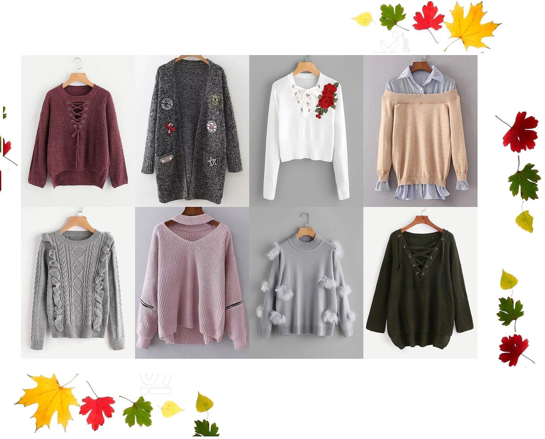 Autumn sweaters 2017 -  Sweterki na jesień, sezon 2017!