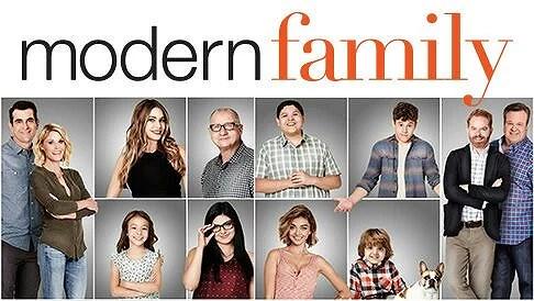 Modern familj