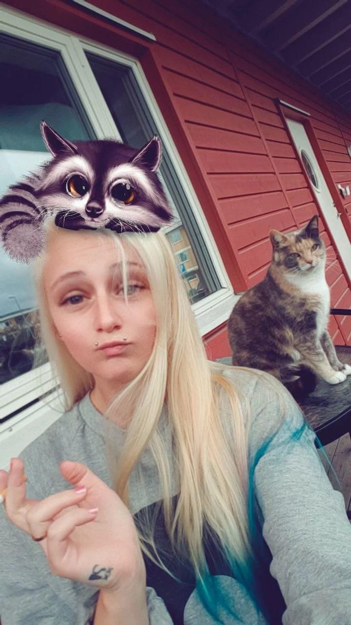 Jag o katten