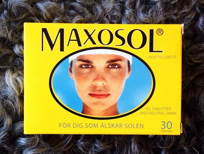 Blir man brun av maxosol