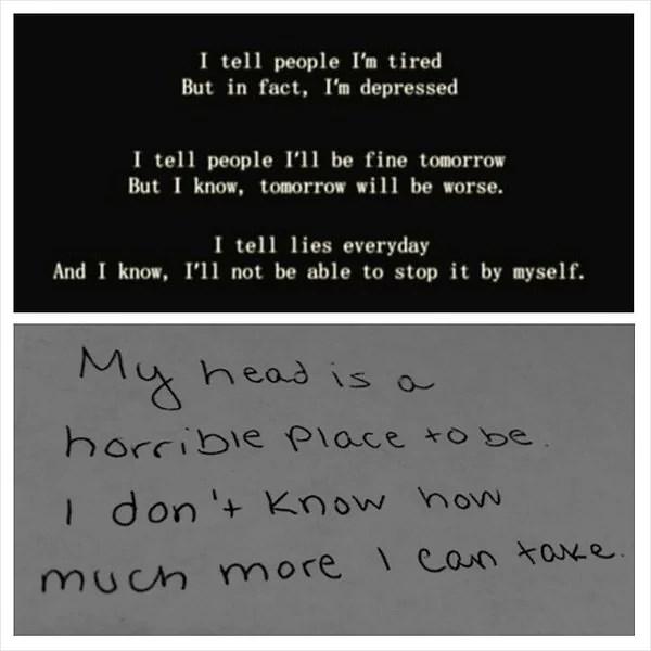 När jag inte orkade mer... -