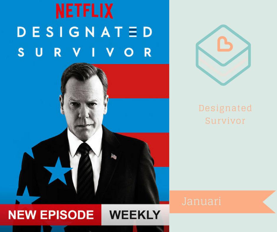 Serier jag vill se på Netflix - Designated Survivor