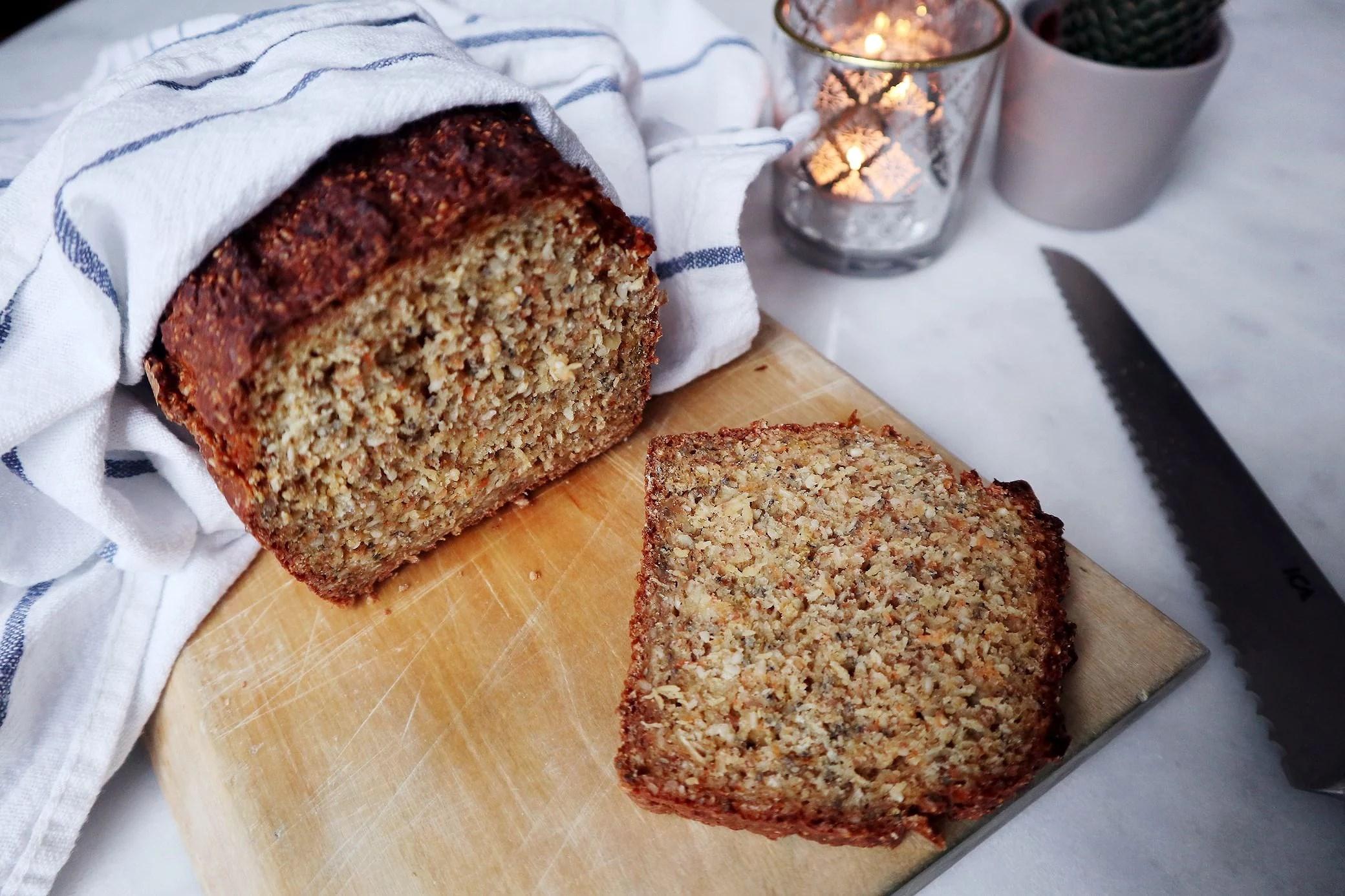 Enkelt bröd med kvarg