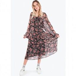 blomstret kjole str xxl