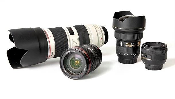 Nytt kameraobjektiv