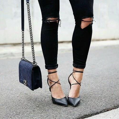 Heels on Street #inspo
