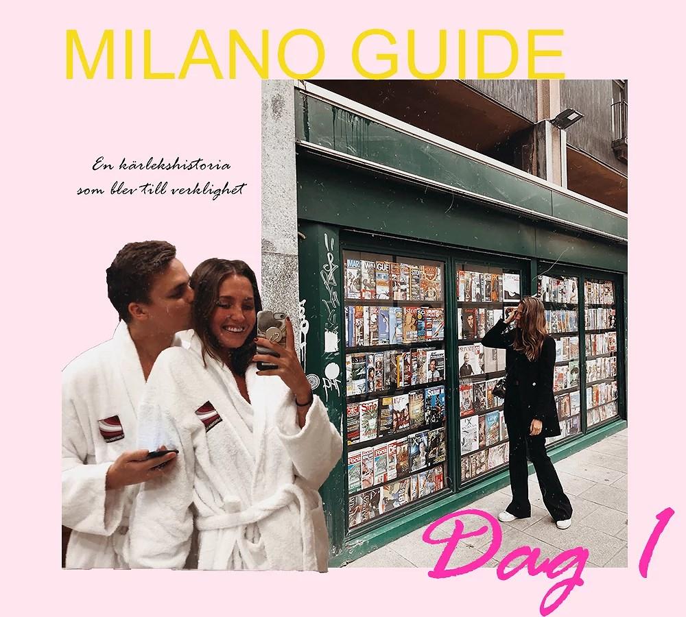MILANO GUIDE DAG 1