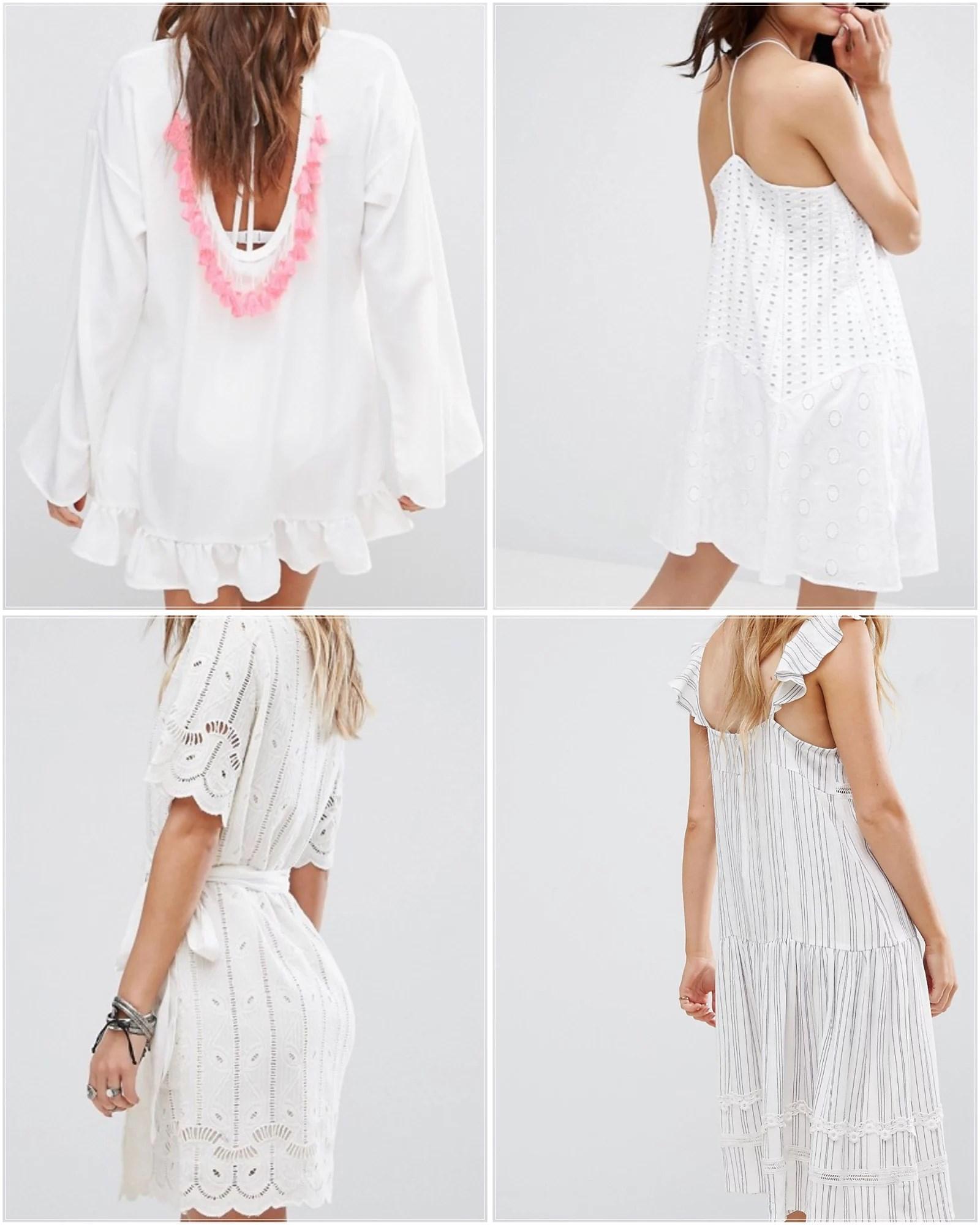 THE WHITE SUMMER DRESS