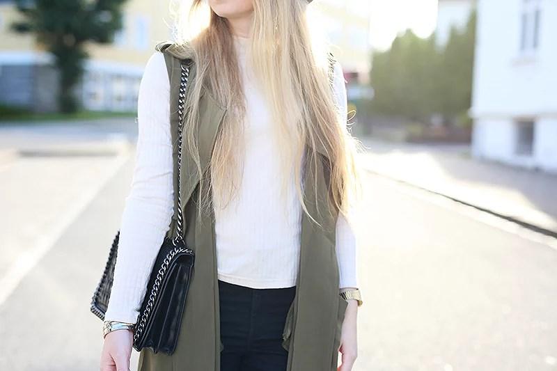 krist.in style antrekk sleeveless jacket shein hat h&m