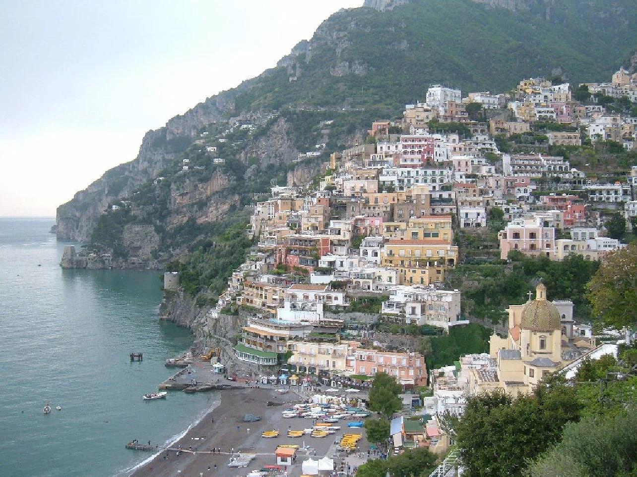 Positano i Italien