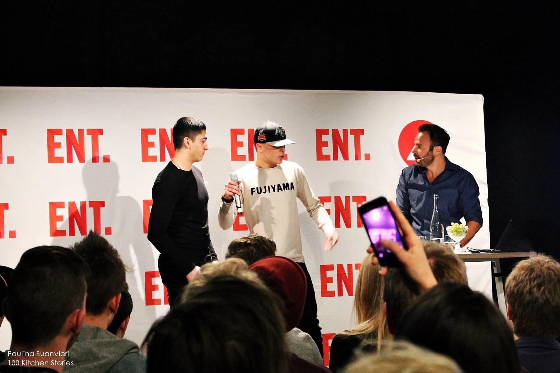 TV4 ENT CAMP IN STOCKHOLM