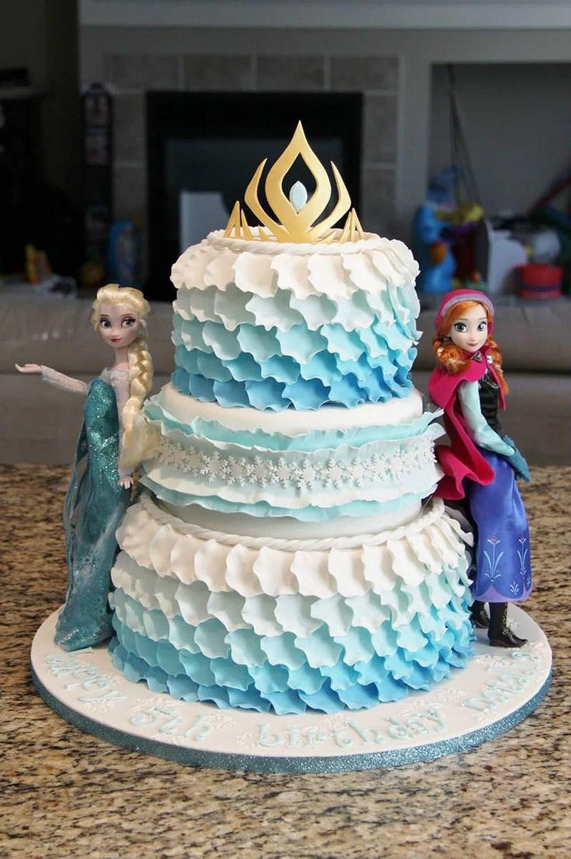 Cara Membuat Kue Ulang Tahun Frozen Agar Lebih Menarik Untuk