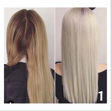 Silver White Hair Emilymalmborg