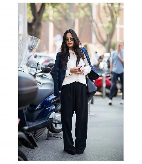 5 ways to wear: Wide pants