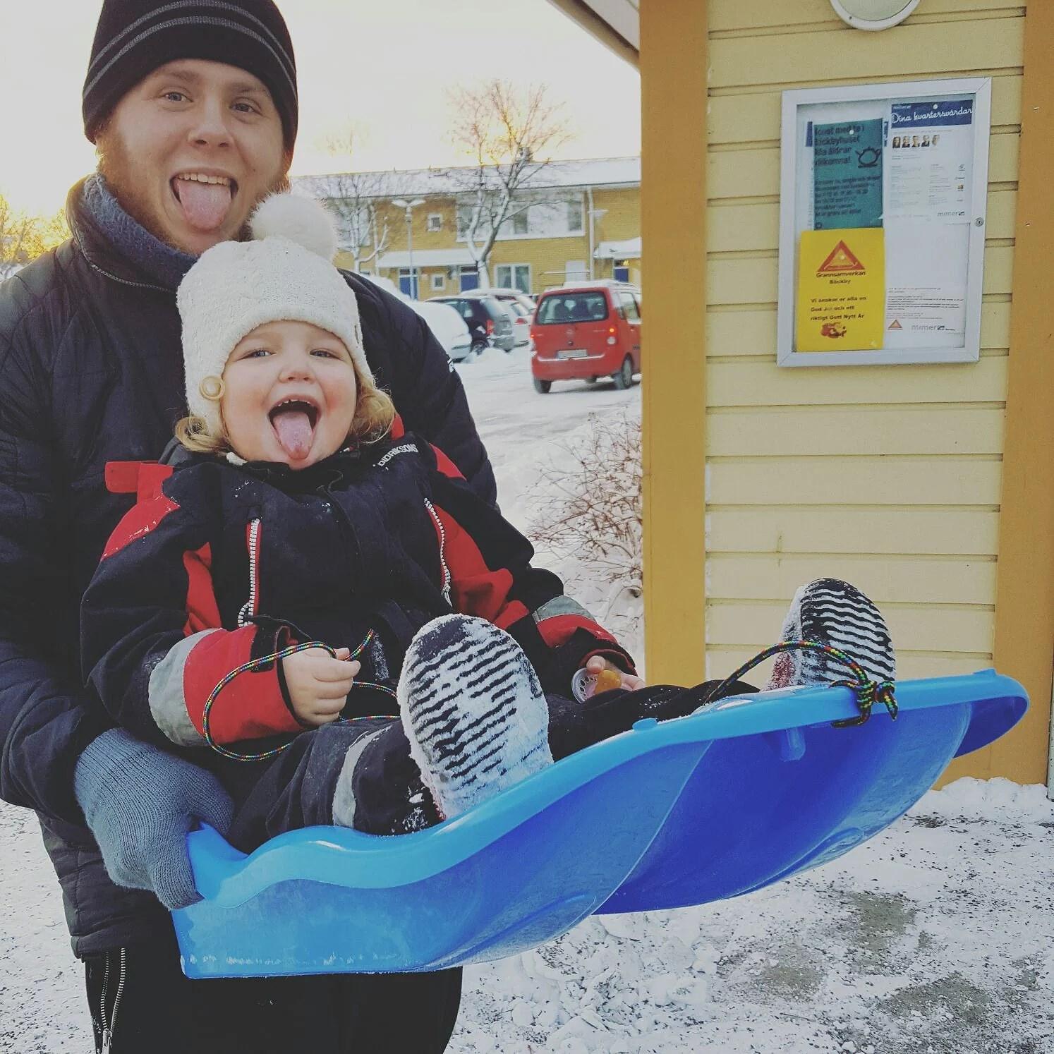 Snö kaos!