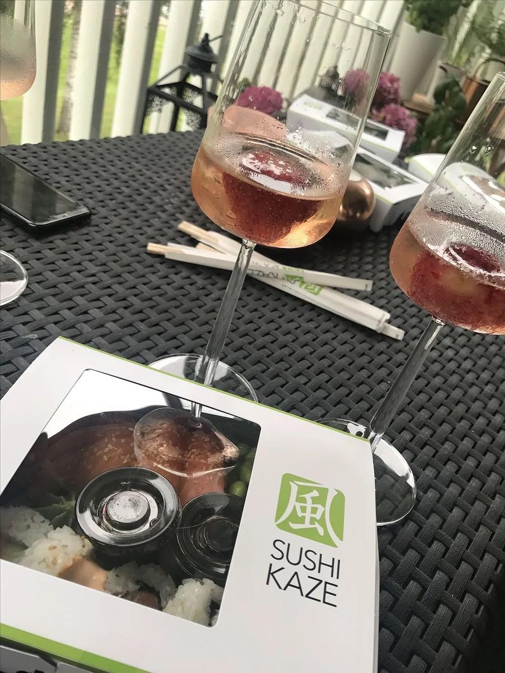 Bubbel & sushi