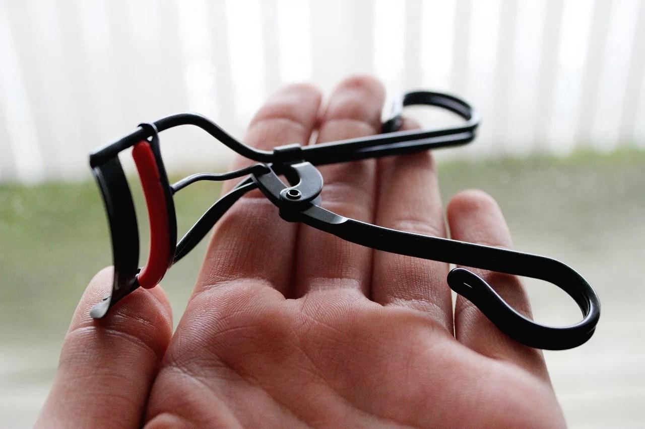 Ögonfransböjare - före & efter