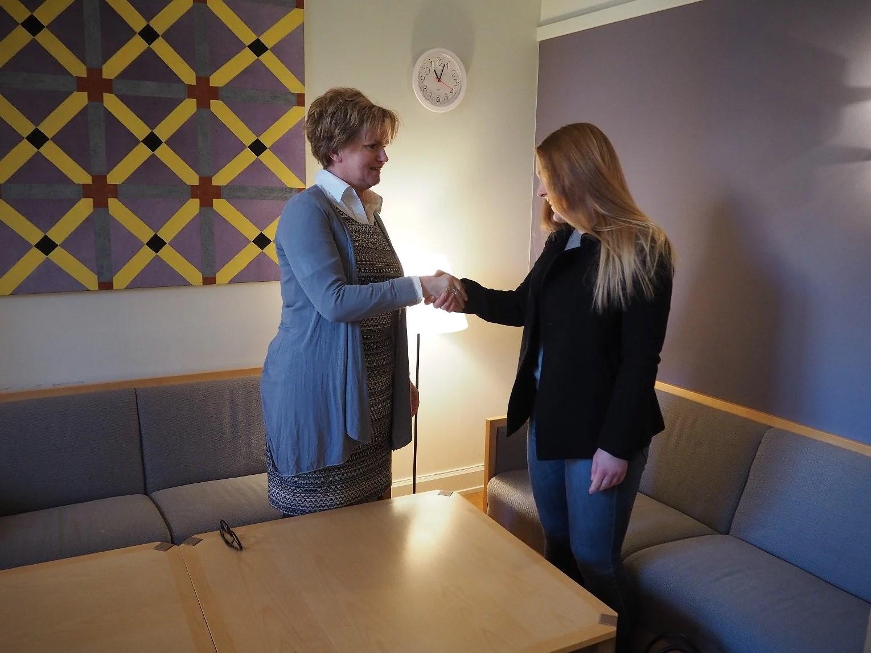 Lunch med Karin Jonsson (C)