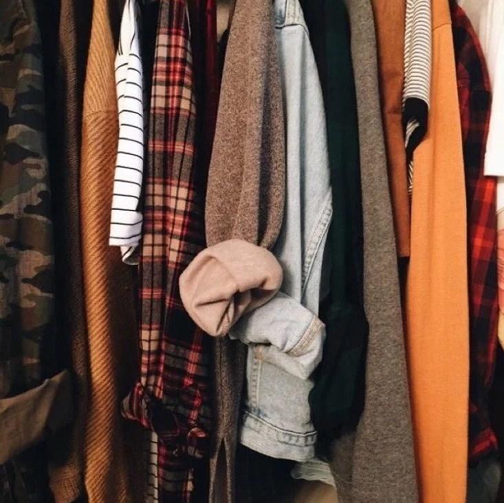 Stickade tröjor och långärmat