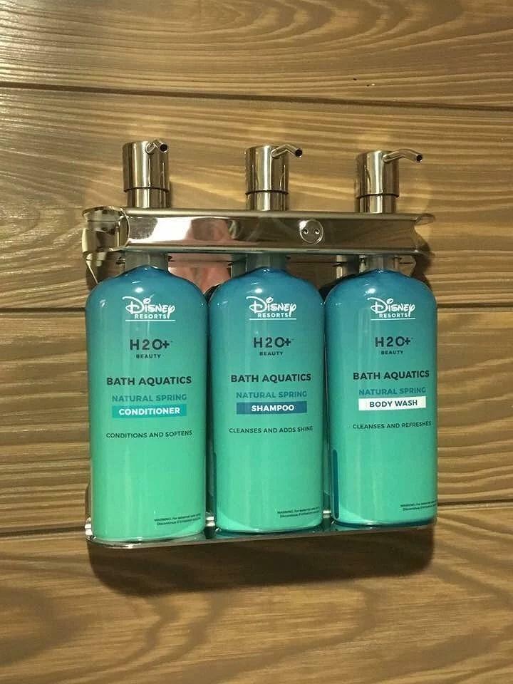 WDW:s hotell testar dispenser för schampoo istället för miniflaskor