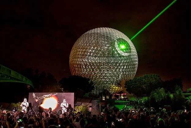 Spaceship Earth på EPCOT kommer att få Star Wars tema