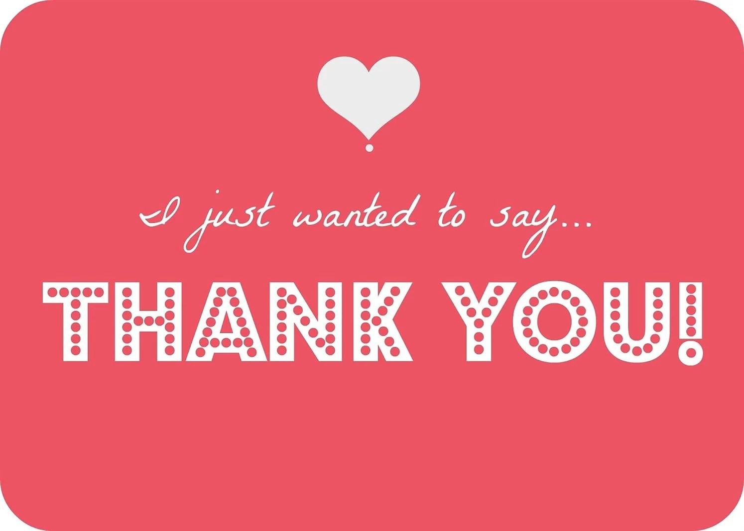 Sending out some gratitude