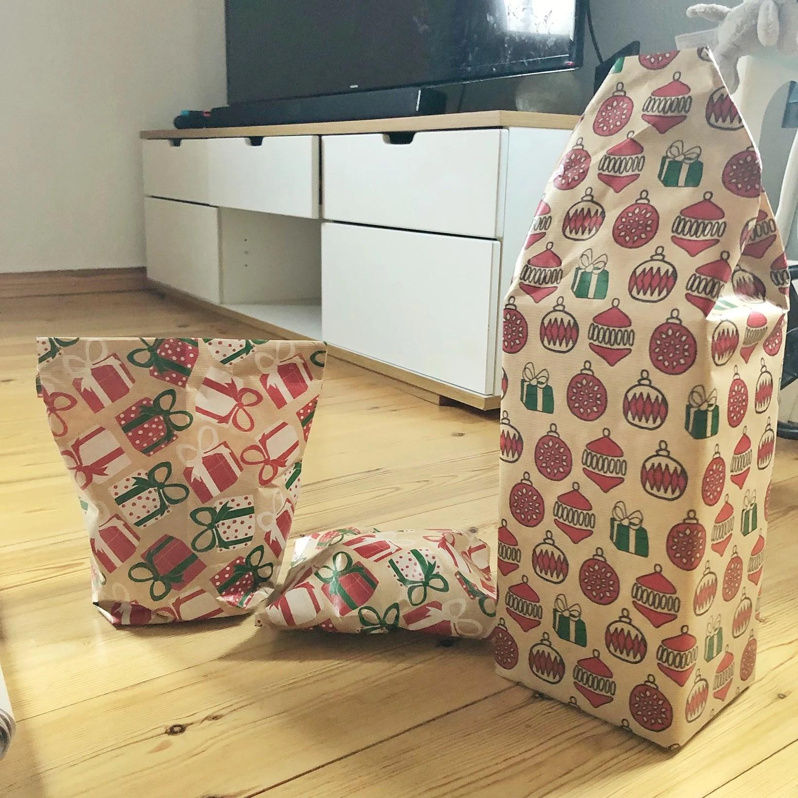Julklapps inslagning!