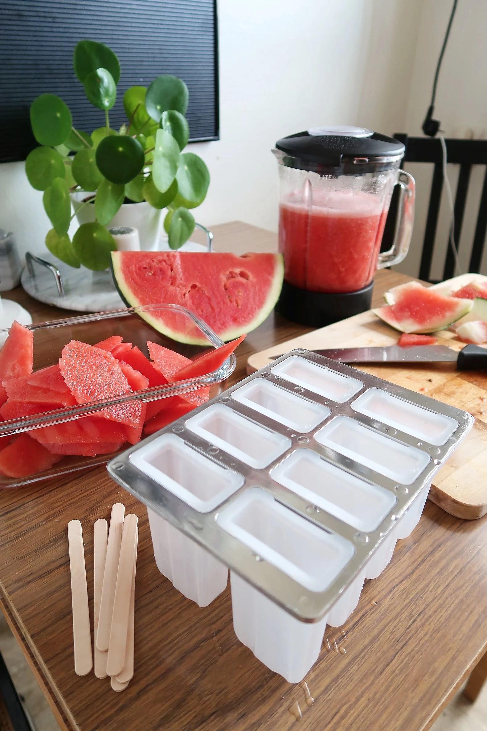 Hemmagjord melonisglass!