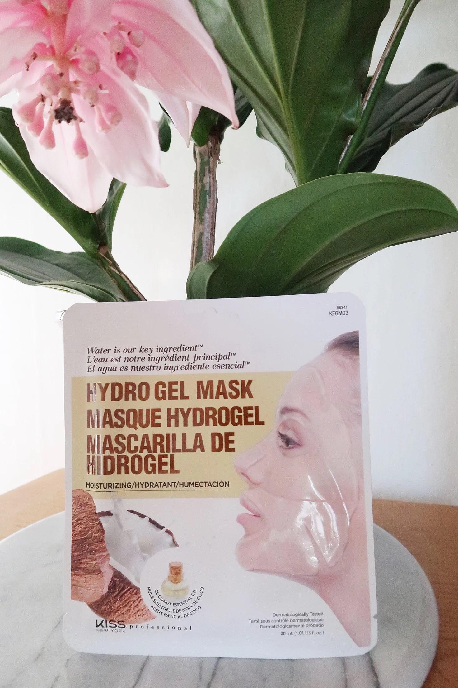 Hydrogel coconut mask!